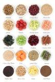 Échantillonneur de nourriture de régime Photographie stock