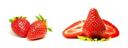 Échantillonneur rouge frais de fraise Photo libre de droits