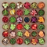 Échantillonneur superbe de nourriture Photo libre de droits