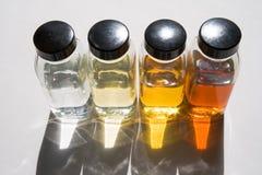 Échantillons 1 de pétrole Image stock