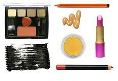 Échantillons cosmétiques. Photos stock
