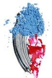 Échantillons cosmétiques photo stock