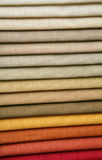Échantillons d'un tissu Images stock