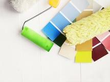 Échantillons de couleur photo libre de droits
