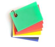 Échantillons de couleur Image libre de droits
