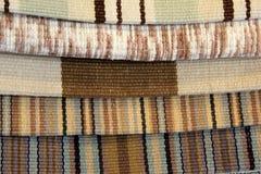 Échantillons de matériel pour le tapissage Photo libre de droits