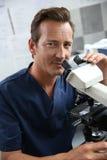 Échantillons de témoin de docteur dans le laboratoire Photos stock