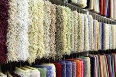 Échantillons de tapis Photographie stock