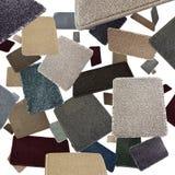 Échantillons de tapis photo libre de droits