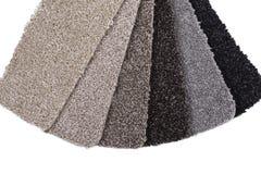 Échantillons de tapis Image stock