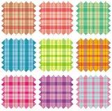 Échantillons de tissu Photo libre de droits