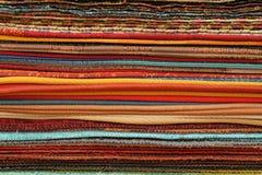 Échantillons de tissu Photo stock