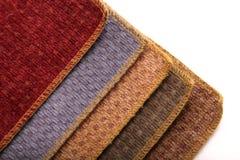 Échantillons de tissu d'Upholstrey Image libre de droits