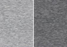 Échantillons gris sportifs de textile Image libre de droits