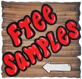 Échantillons libres Photo stock