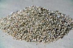 Échantillons minéraux de vermiculite pour la production Photos stock