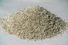 Échantillons minéraux de vermiculite pour la production Images stock