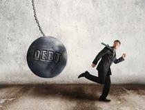 Échappez à la dette Images stock