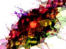 Écharpe colorée 2 Image libre de droits