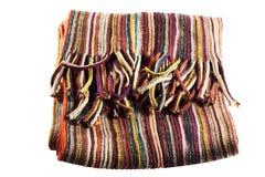 Écharpe colorée Images stock