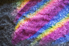 Écharpe colorée Photographie stock