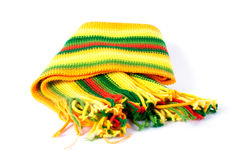 Écharpe de couleur Images libres de droits