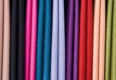 Écharpe de couleur Image stock