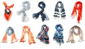 Écharpe de femme Photo stock