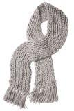 Écharpe de gris de laines Photos stock