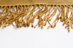 écharpe de luxe de frange de cachemire Photos libres de droits