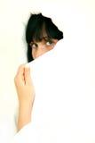 écharpe de visage Photo stock