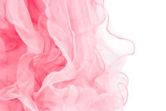 Écharpe en soie rose Images libres de droits