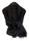 Écharpe noire Images stock