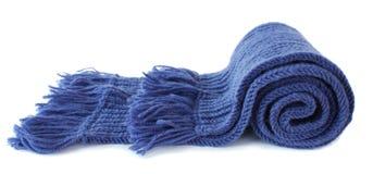 Écharpe tricotée Image libre de droits