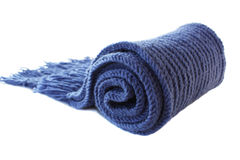 Écharpe tricotée Images libres de droits