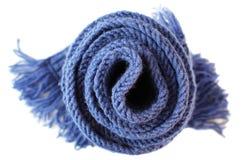 Écharpe tricotée Photo libre de droits