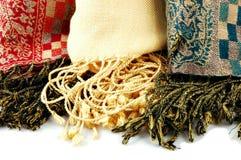 Écharpes de Pashmina Photographie stock