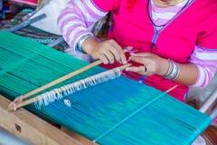 Écharpes en soie Images stock