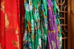 Écharpes en soie Photographie stock libre de droits