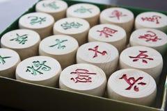Échecs chinois Photo stock