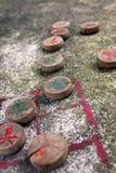 Échecs chinois Images libres de droits