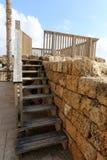 Échelle - élément structurel du bâtiment Photos stock