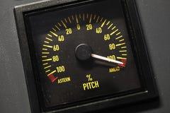 Échelle allumée d'indicateur de lancement de navigation photos stock