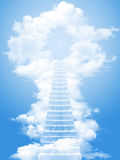 Échelle au ciel Photo libre de droits