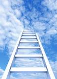 Échelle au ciel Images libres de droits