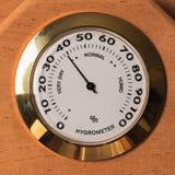 Échelle d'hygromètre dans l'humidificateur photo libre de droits