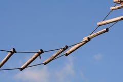 Échelle de corde Photos stock