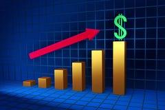 Échelle de croissance Images stock