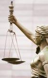 Échelle de jugement Photos libres de droits