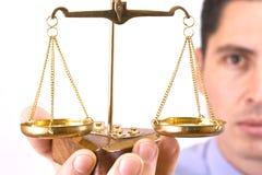 Échelle de justice images libres de droits